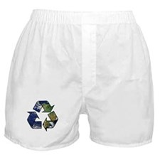Recycle Earth Boxer Shorts