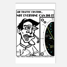 Cute Air traffic controler Postcards (Package of 8)