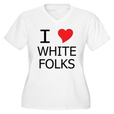 I Heart White Folks T-Shirt