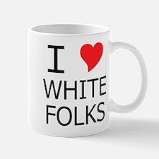 I Heart White Folks Mug