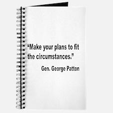 Patton Planning Quote Journal