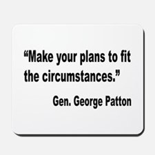 Patton Planning Quote Mousepad