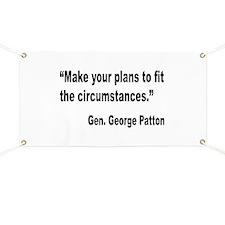 Patton Planning Quote Banner
