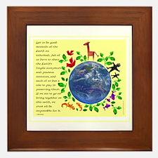 Recycle Framed Tile