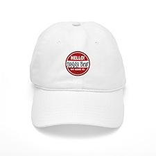 Hello My Name is Huggy Bear Baseball Cap