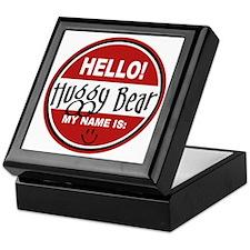 Hello My Name is Huggy Bear Keepsake Box