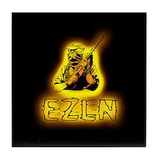 EZLN Ablaze Tile Coaster