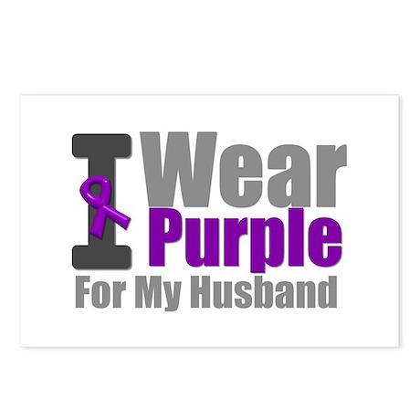 PurpleRibbon BF Postcards (Package of 8)