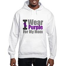 PurpleRibbon Mom Hoodie