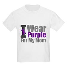 PurpleRibbon Mom T-Shirt