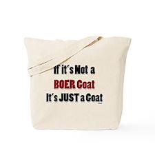 Just a Goat Tote Bag