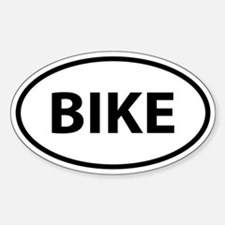 BIKE Oval Decal