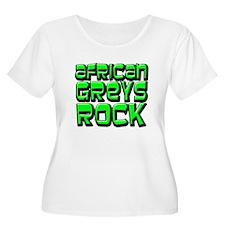 African Greys Rock T-Shirt