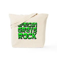 African Greys Rock Tote Bag