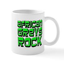 African Greys Rock Mug