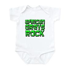 African Greys Rock Infant Bodysuit