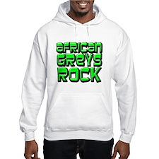 African Greys Rock Hoodie