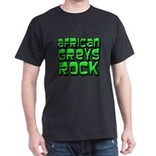African Greys Rock T-Shirt