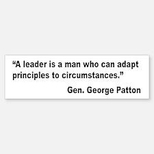 Patton Leader Quote Bumper Bumper Bumper Sticker