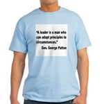 Patton Leader Quote Light T-Shirt