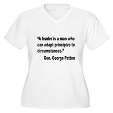 Patton Leader Quote (Front) T-Shirt