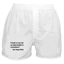 Patton Leader Quote Boxer Shorts