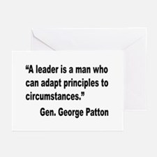Patton Leader Quote Greeting Cards (Pk of 10)