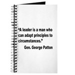 Patton Leader Quote Journal