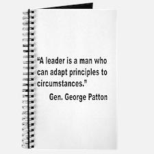 Patton Leader Quote Journal