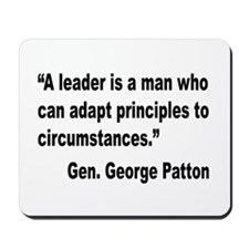 Patton Leader Quote Mousepad