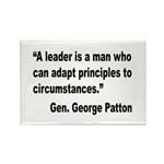 Patton Leader Quote Rectangle Magnet (10 pack)
