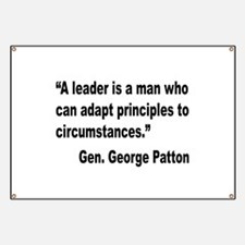 Patton Leader Quote Banner