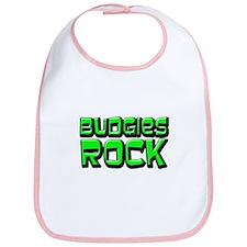 Budgies Rock Bib