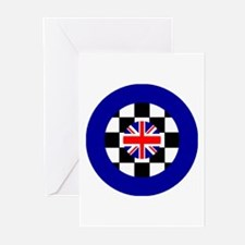 Target Union Jack Greeting Cards (Pk of 10)