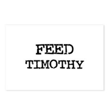 Feed Timothy Postcards (Package of 8)