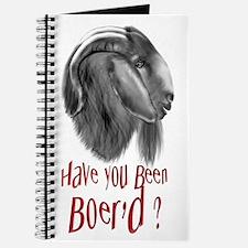 Been Boer'd Boer Goat Journal
