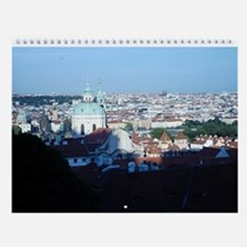 Prague, Czech Republic Wall Calendar