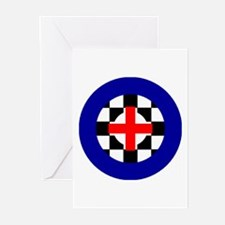 MOD Target England Greeting Cards (Pk of 10)