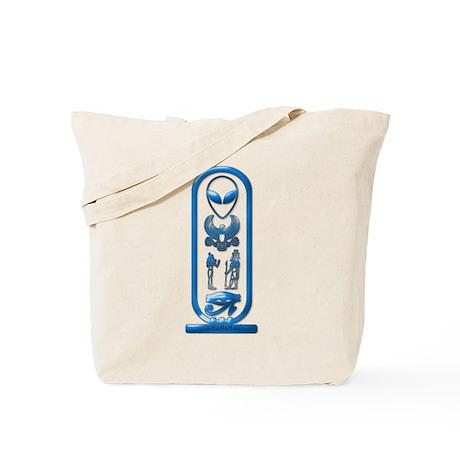Alien-Egyptian Cartouche 15 Tote Bag