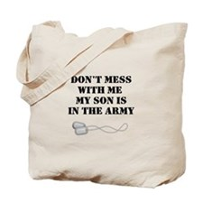 Soldier's Parent Tote Bag