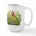 Masonic Acacia & Pyramid Large Mug