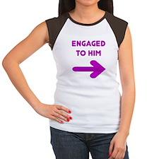 Engaged Arrow Women's Cap Sleeve T-Shirt