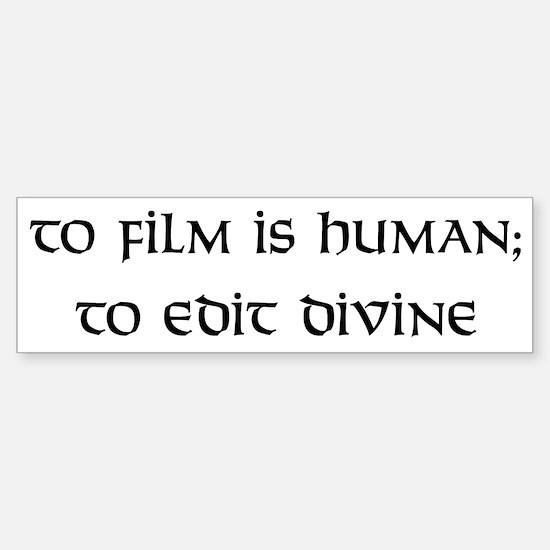 To edit divine Bumper Bumper Bumper Sticker