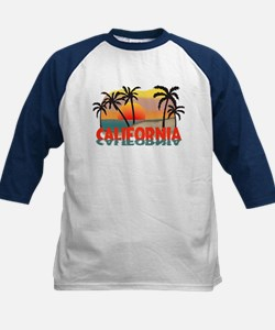 California Beaches Sunset Tee