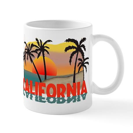 California Beaches Sunset Mug
