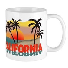 California Beaches Sunset Mug