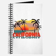 California Beaches Sunset Journal