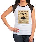 Black Bart Women's Cap Sleeve T-Shirt