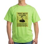 Black Bart Green T-Shirt