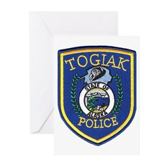 Togiak Police Greeting Cards (Pk of 10)